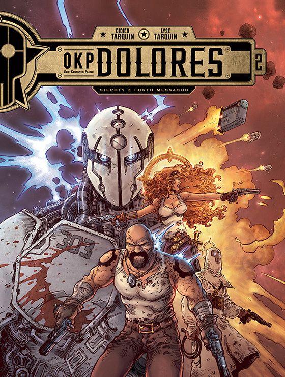 OKP Dolores, tom 2 - okładka