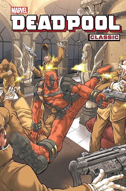 Deadpool Classic, tom 9 - okładka