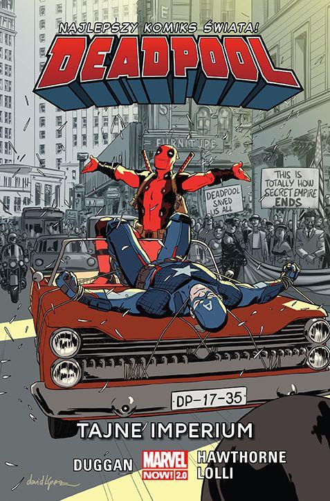 Deadpool, tom 11 - okładka