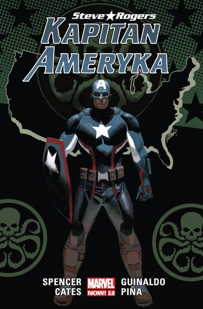 """""""Kapitan Ameryka. Steve Rogers 2"""" - okładka"""