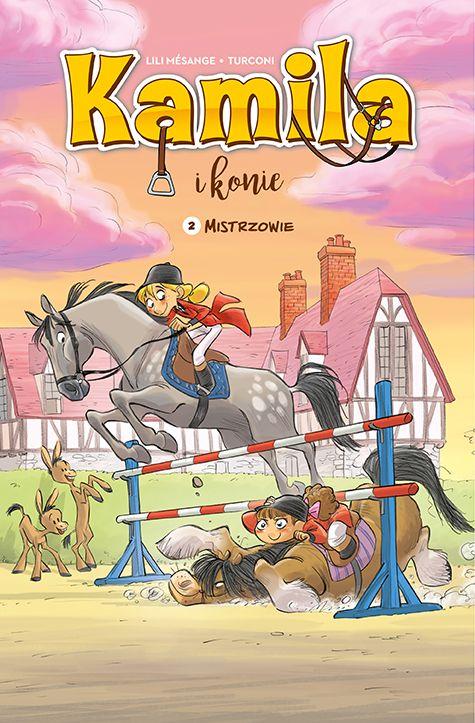 Kamila i konie, tom 2 - okładka
