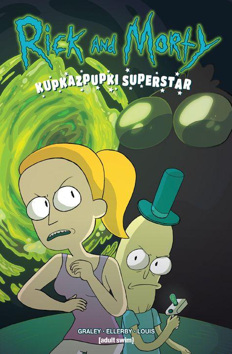 Rick & Morty - okładka