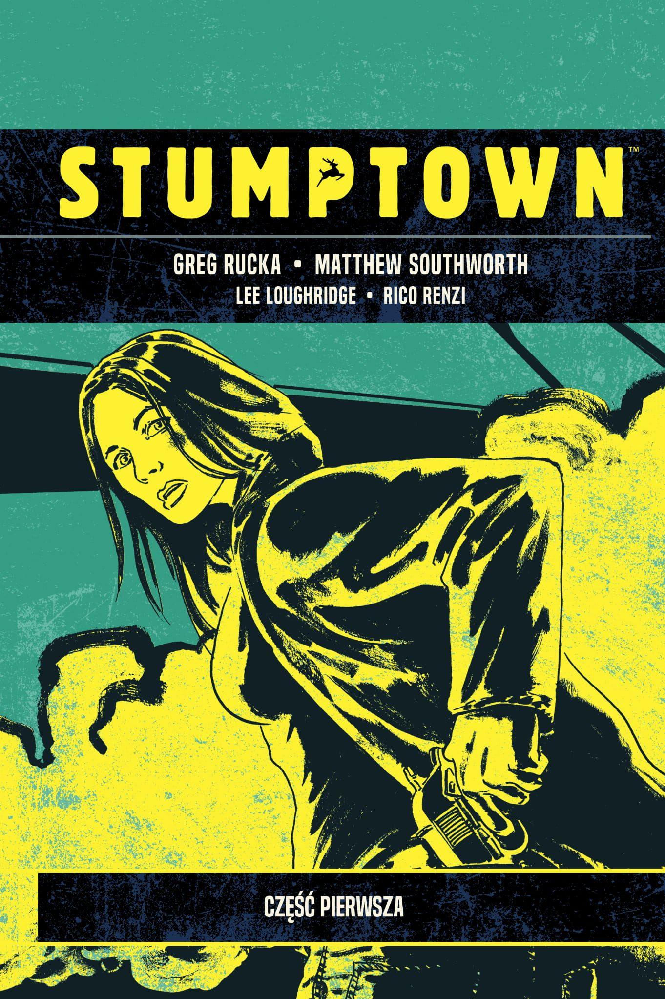 Stumptown t.1 - okładka