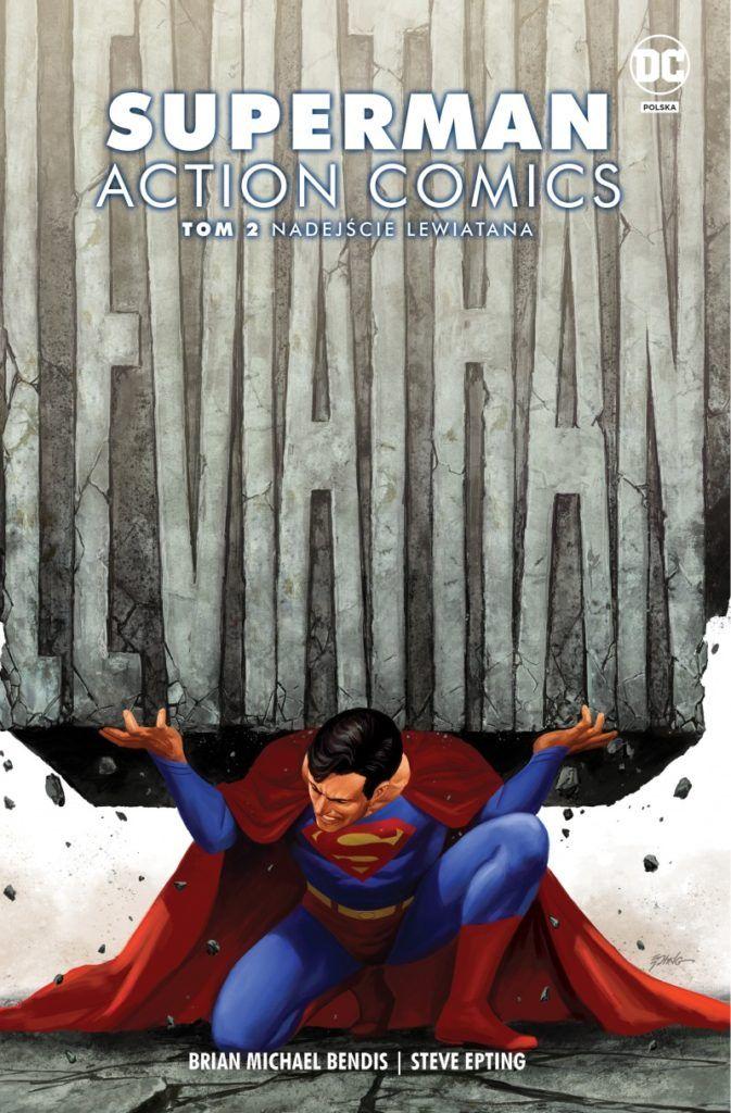 """""""Superman. Action Comics 2"""" - okładka"""