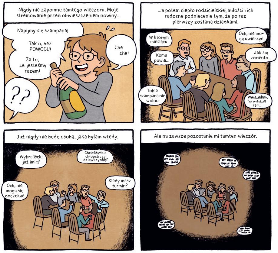 Dziewięć miesięcy czułego chaosu - przykładowa grafika