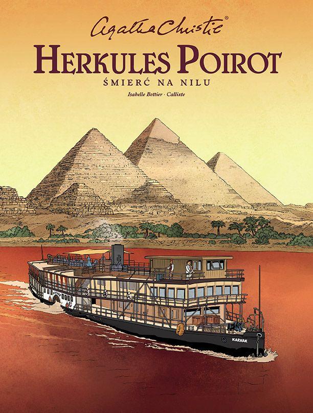 Herkules Poirot, Śmierć na Nilu - okładka