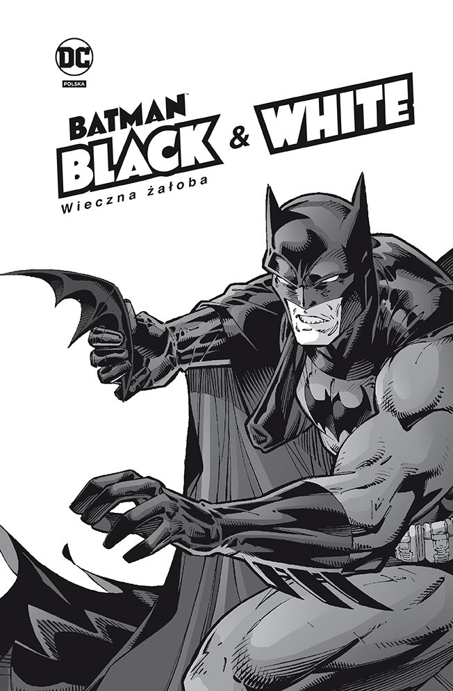 Batman, Black & White, tom 1 - okładka