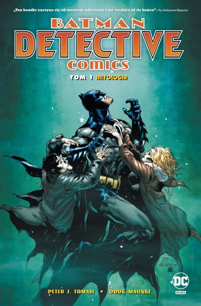 Batman. Detective Comics 1 - okładka