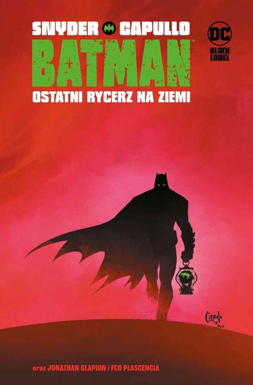 Batman, Ostatni rycerz na Ziemi - okładka