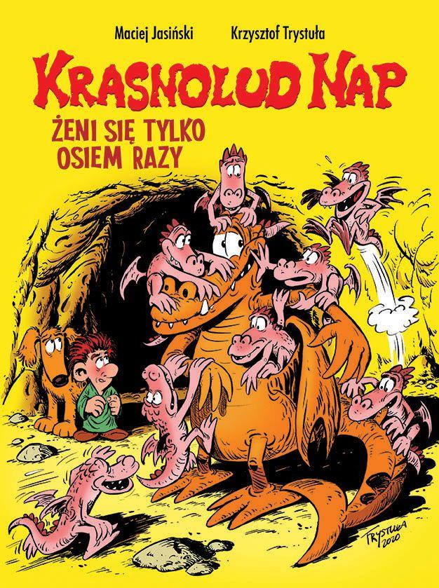 Krasnolud Nap, tom 4 - okładka