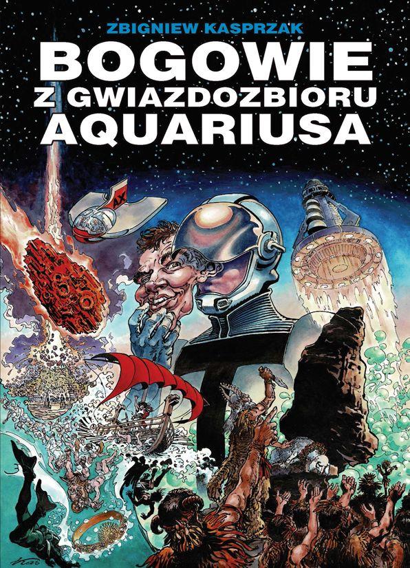 Bogowie z gwiazdozbioru Aquariusa - okładka