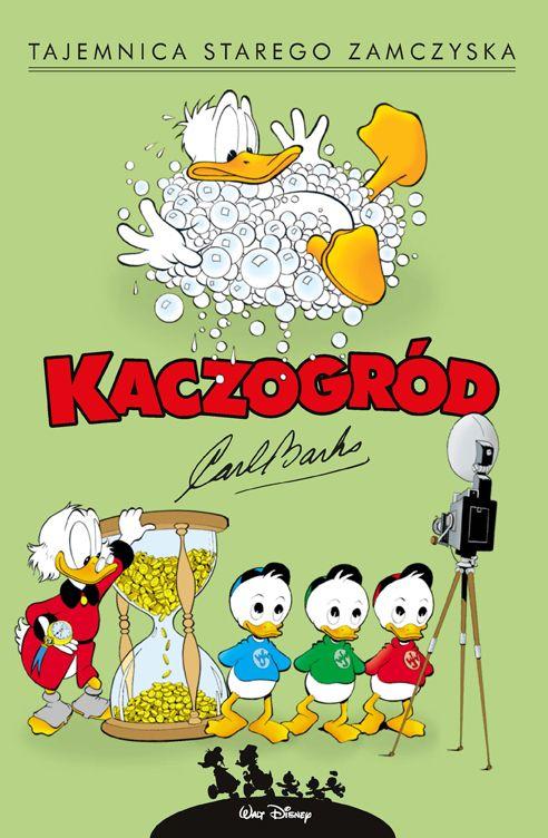 Kaczogród, Carl Barks, tom 8 - okładka
