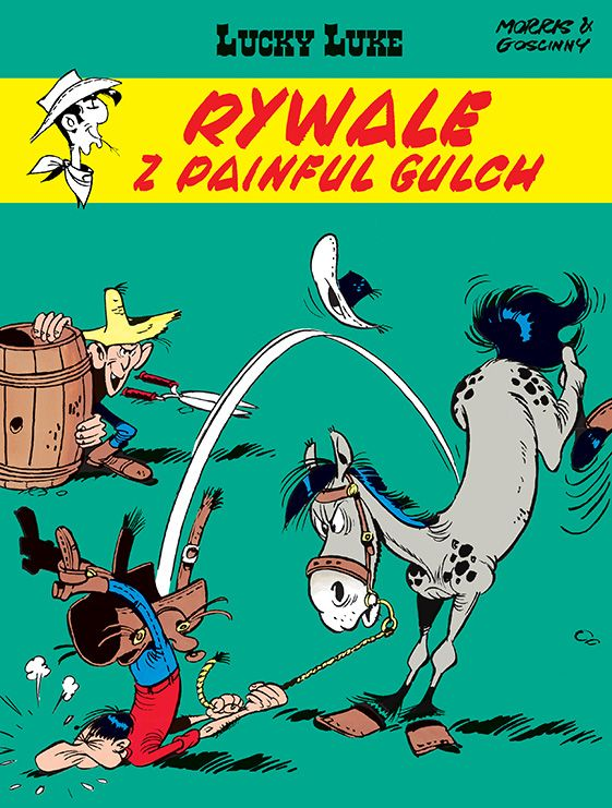 Lucky Luke, tom 19 - okładka