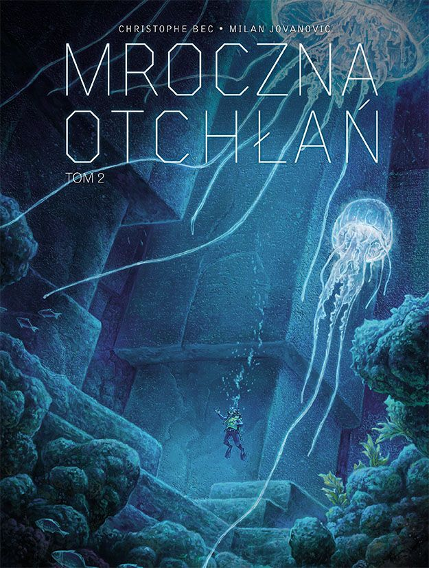 Mroczna Otchłań, tom 2 - okładka
