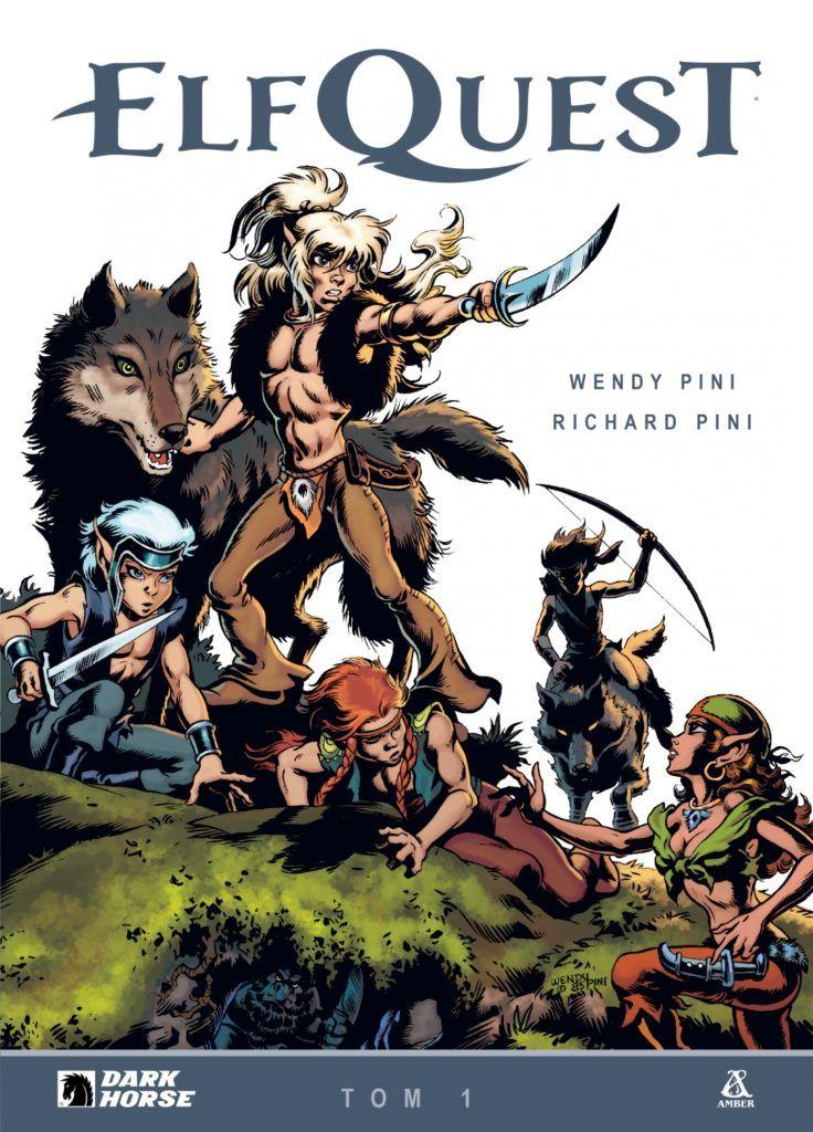 Elf Quest, tom 1 - okładka