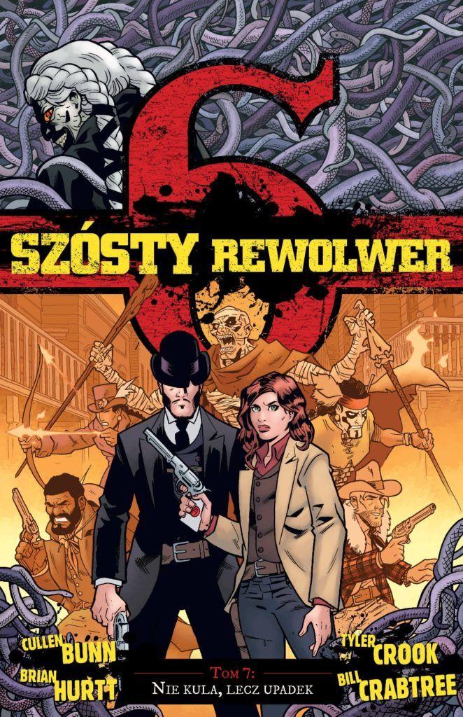 Szósty Rewolwer, tom 7 - okładka