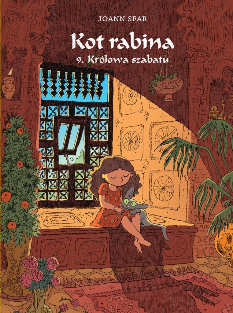 Kot Rabina, tom 9 - okładka