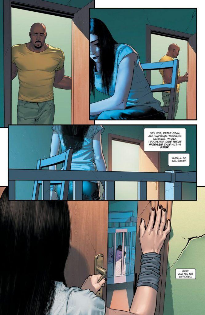 """""""Jessica Jones: Fioletowa córka"""" - przykładowa strona"""