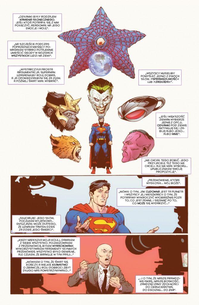"""""""Batman: Ostatni rycerz na Ziemi"""" - przykładowa strona"""