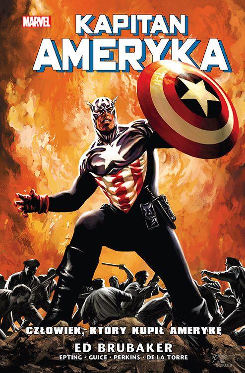 Kapitan Ameryka, tom 4 - okładka