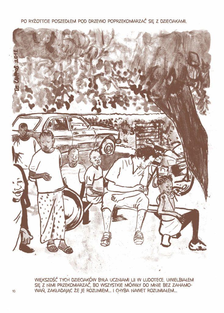 Kassumai - rys. David Campos