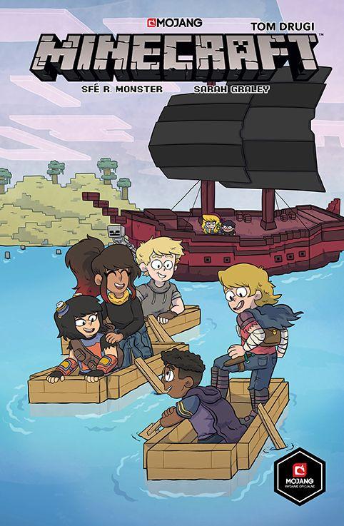 Minecraft, tom 2 - okładka