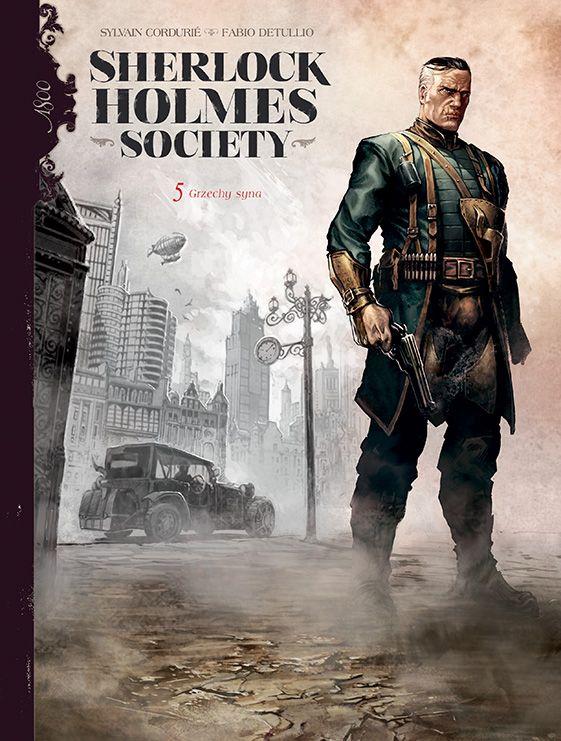 Sherlock Holmes Society, tom 5 - okładka