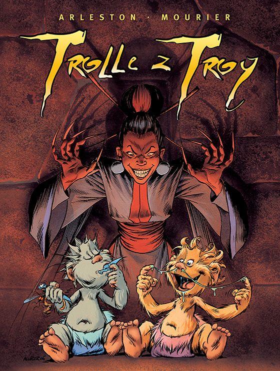 Trolle z Troy, tom 3 - okładka