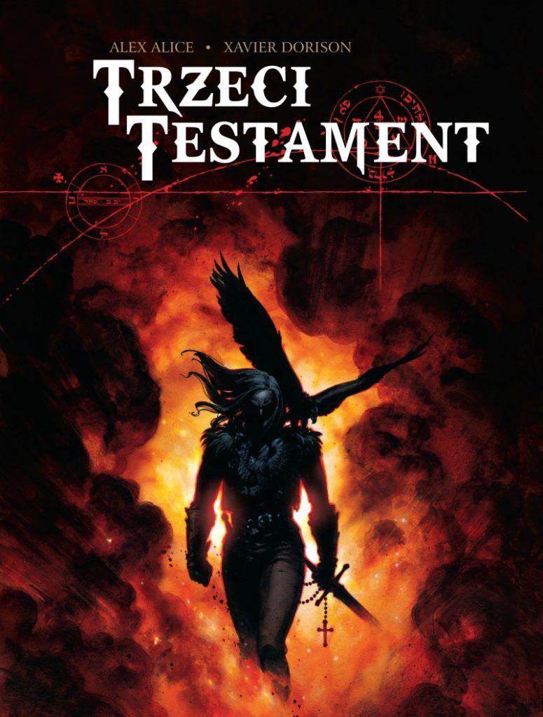 """""""Trzeci Testament"""" - okładka"""