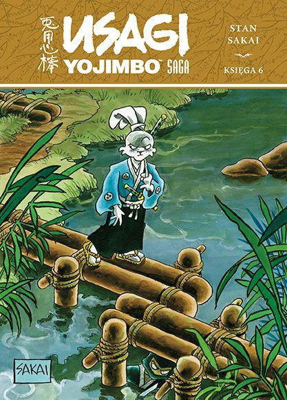 Usagi Yojimbo Saga, tom 6 - okładka