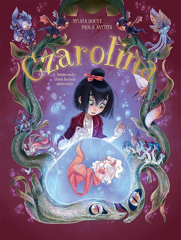Czarolina, tom 2 - okładka