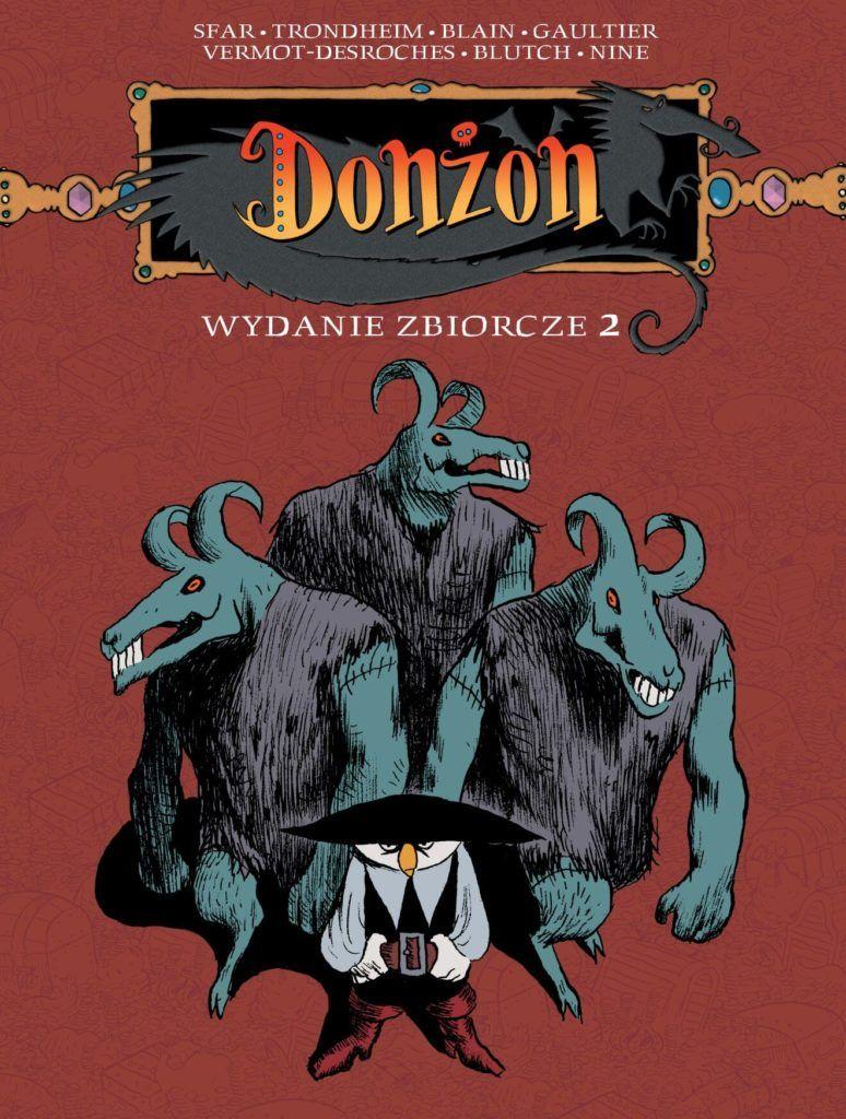 Donżon, tom 2 - okładka