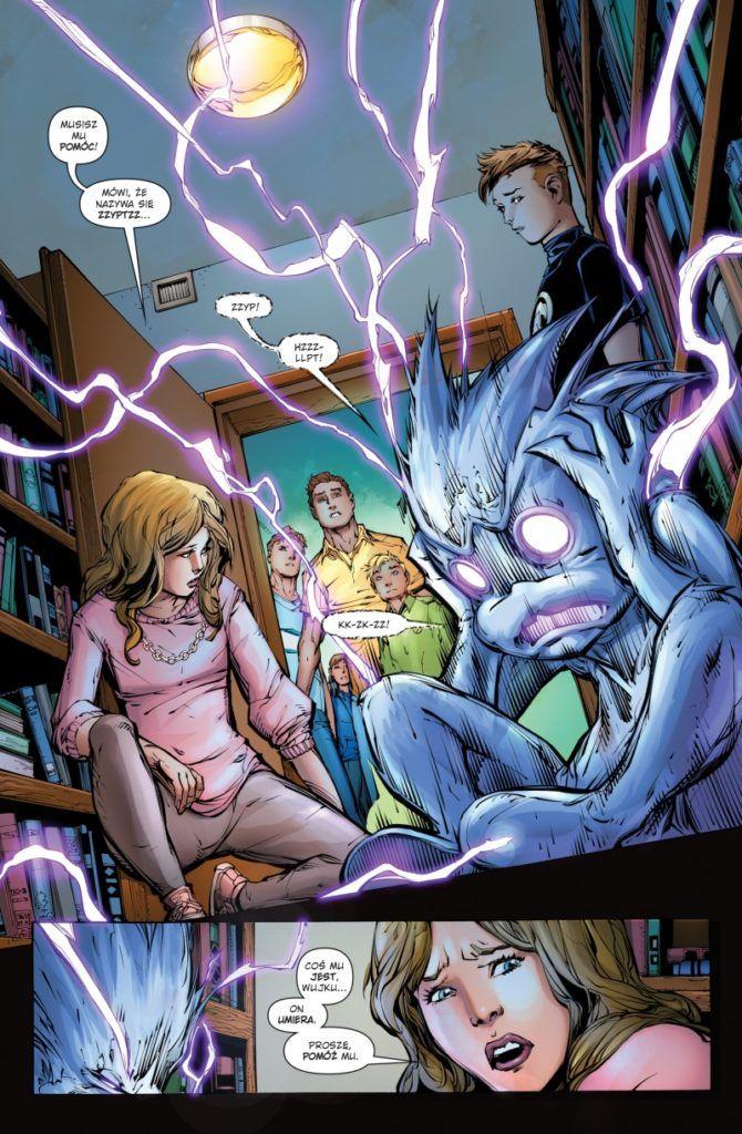 """""""Green Lantern 2"""" - przykładowa strona"""
