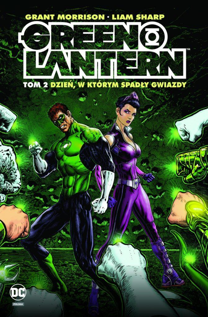 """Green Lantern 2"" - okładka"
