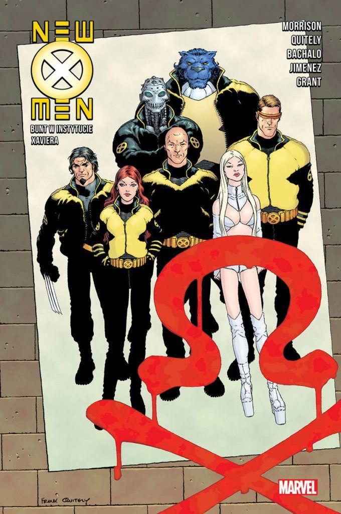 """""""New X-Men 3"""" - okładka"""