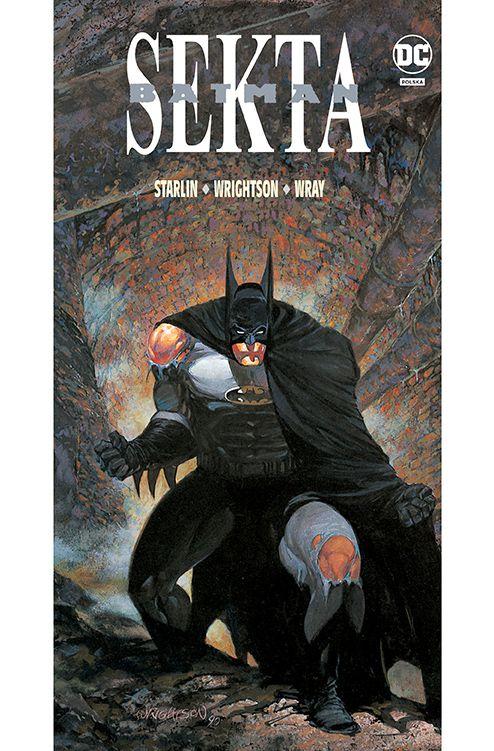 Batman, Sekta - okładka