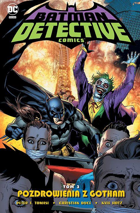 Detective Comics, tom 3 - okładka