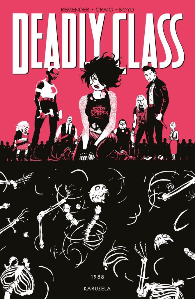 Deadly Class - okładka