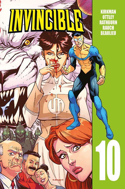 Invincible, tom 10 - okładka