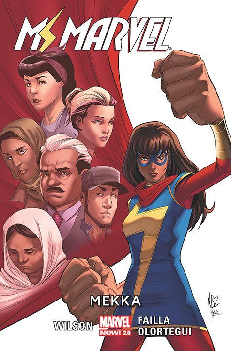 Ms Marvel, tom 8 - okładka