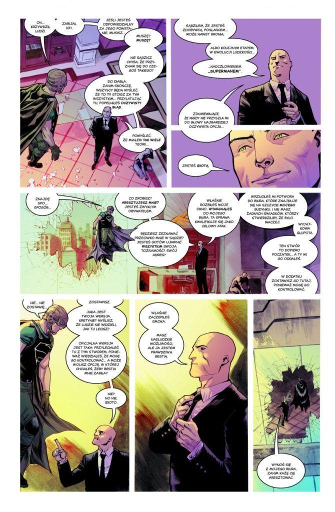 """""""Superman: amerykański obcy"""" - przykładowa strona"""