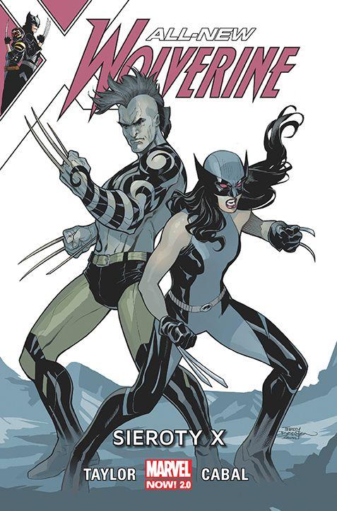 All-New Wolverine, tom 5 - okładka