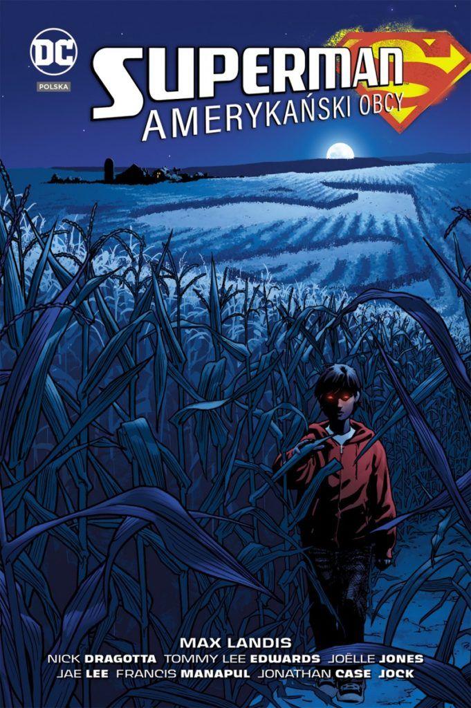 """""""Superman: amerykański obcy"""" - okładka"""