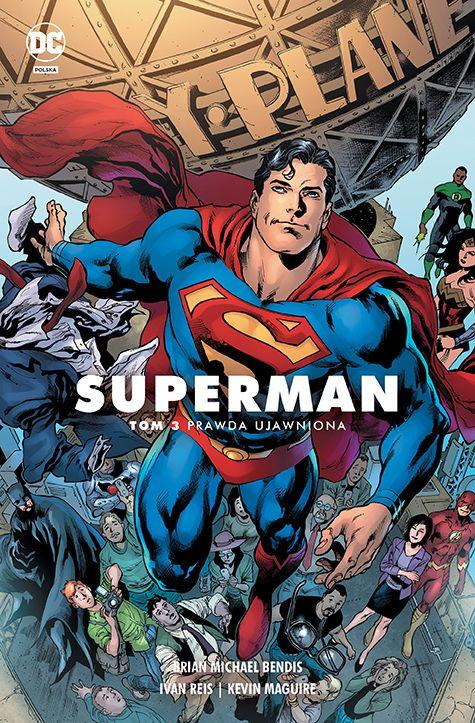 Superman, tom 3 - okładka