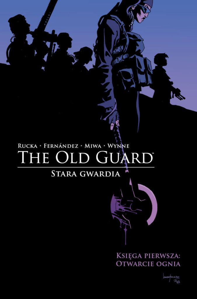 """The Old Guard: Stara Gwardia 1"" - okładka"