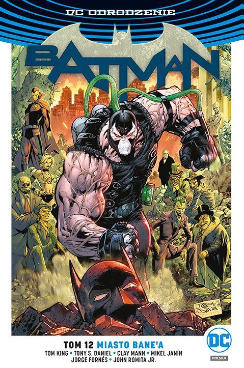 Batman, tom 12 - okładka