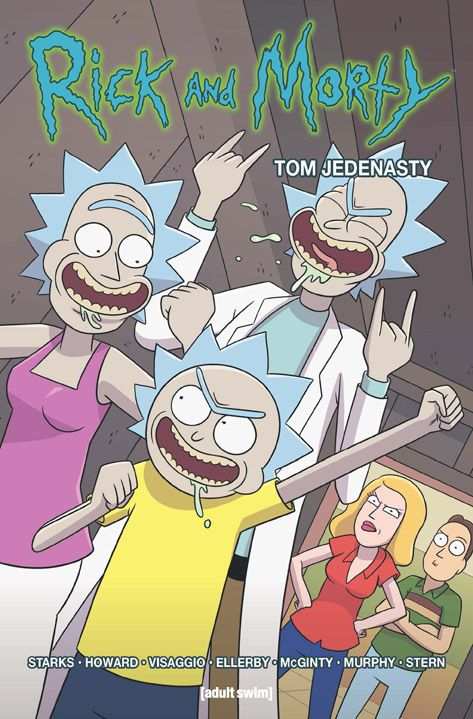 Rick i Morty, tom 11 - okładka