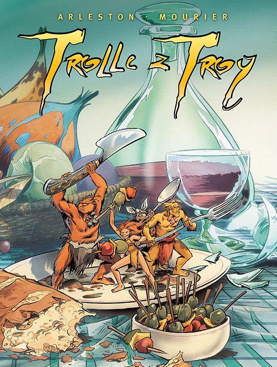Trolle z Troy, tom 4 - okładka