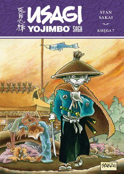 Usagi Yojimbo, tom 7 - okładka