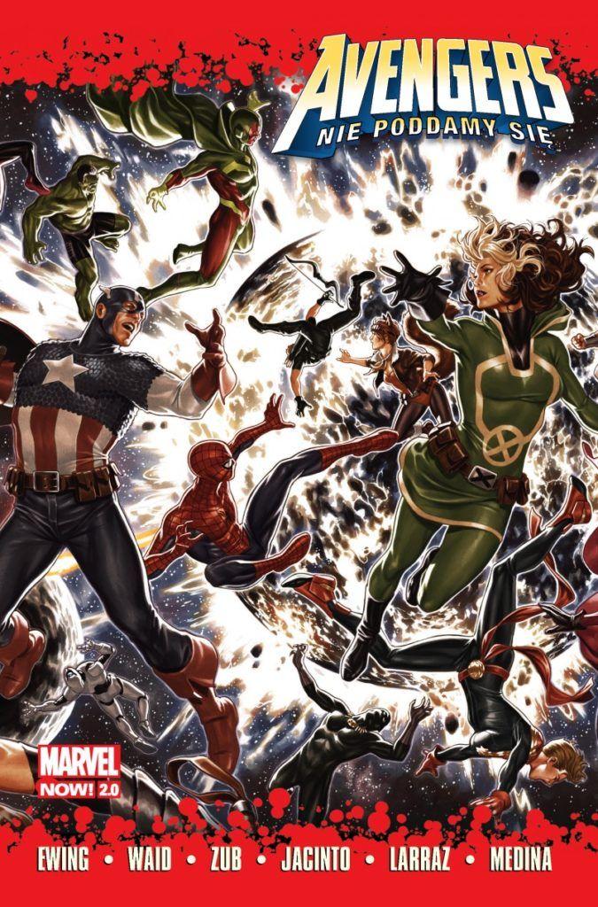 """""""Avengers: Nie poddamy się"""" - okładka"""